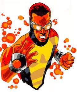Power man powered up.