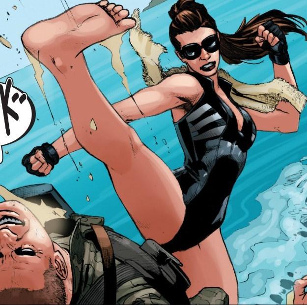 swim suit kick!