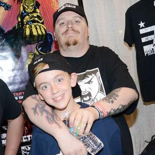 Martin Dunn and his son Alex.