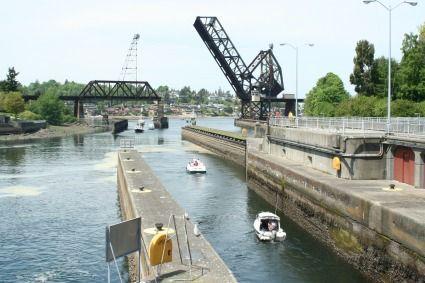 Ballard Locks Canal