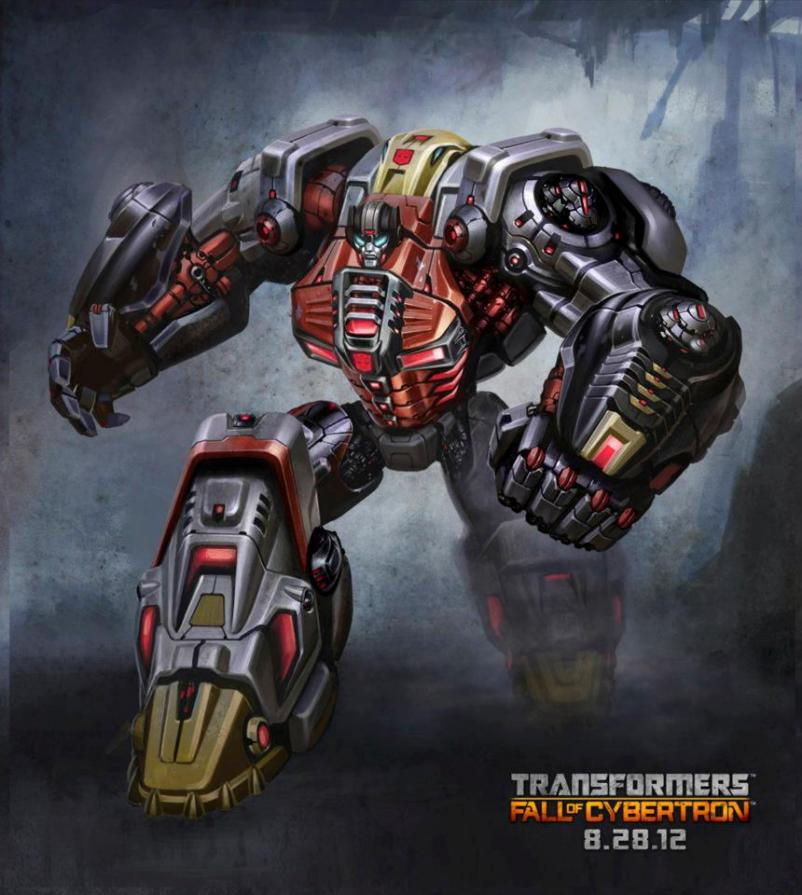 Sludge in robot mode in Fall of Cybertron