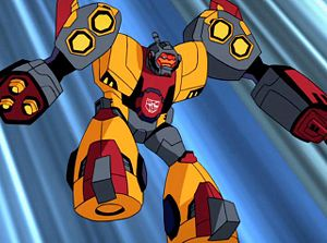 Omega Supreme in Transformers: Animated