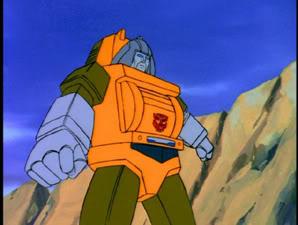 Brawn in the Transformers: Generation 1 cartoon