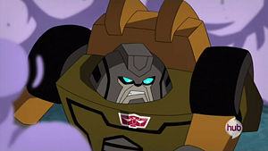Brawn in Transformers: Animated