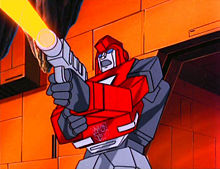 Ironhide in the Generation 1 cartoon