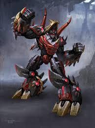 Slag in his robot mode