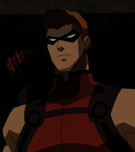 Roy as Red Arrow