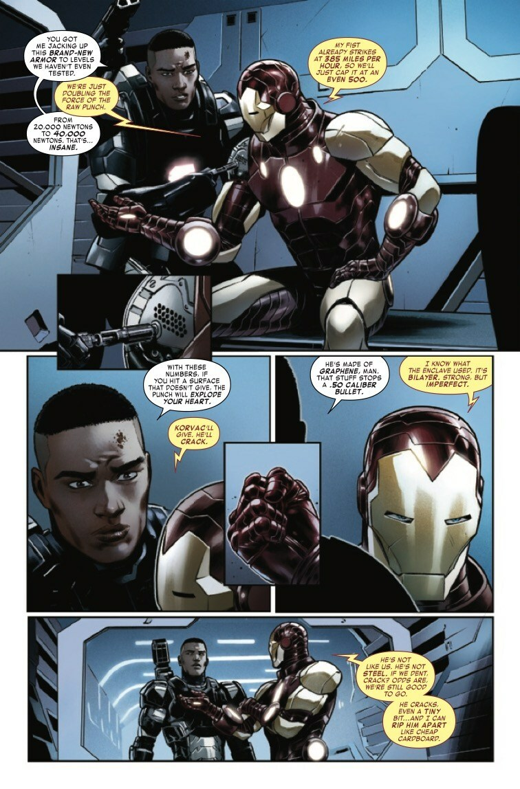 Iron Man Vol. 6 #7 (this issue came out literally a week ago)