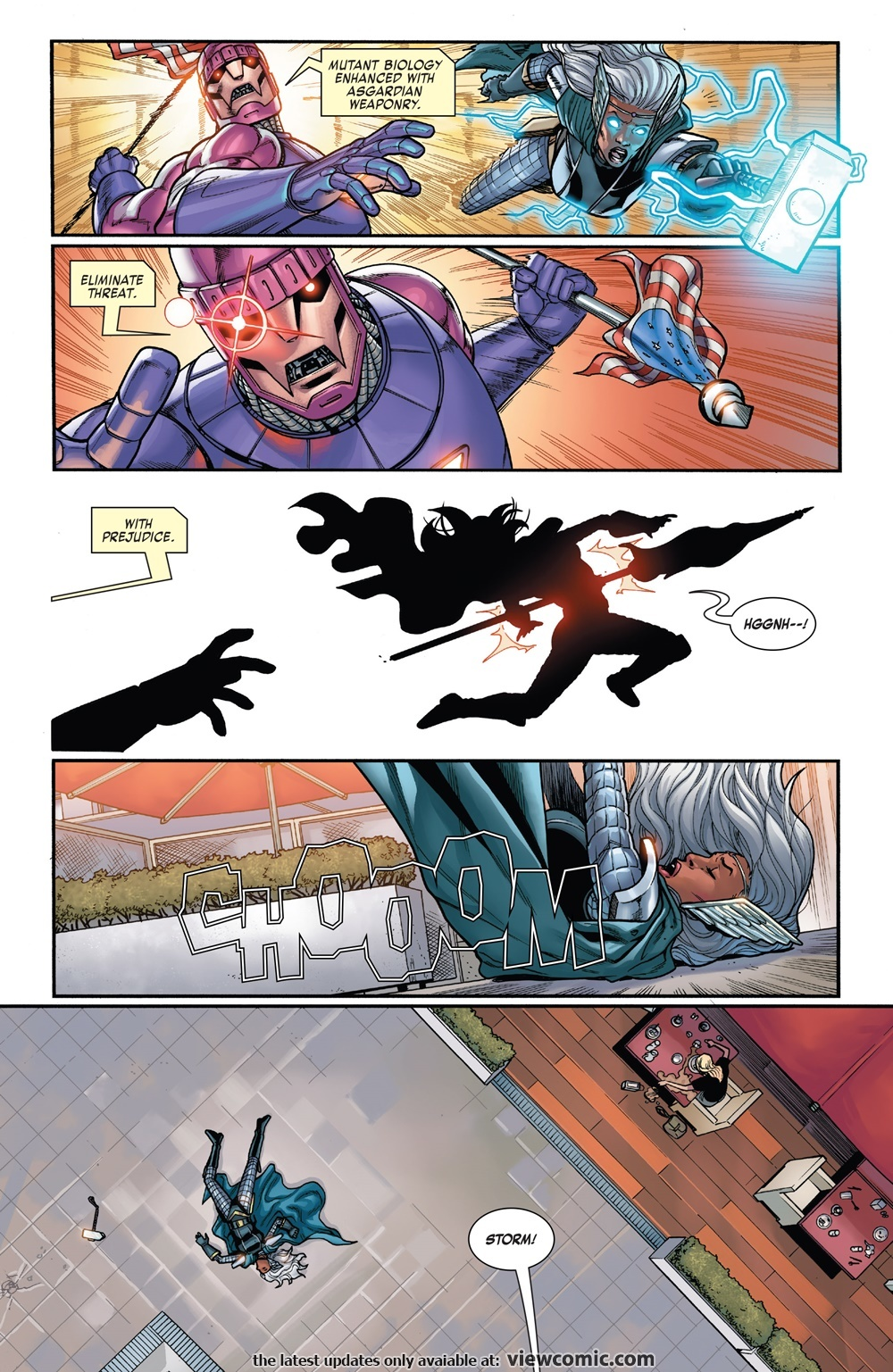 Able to penetrate the mental defenses of a Stormcaster enhanced Storm and make her experience her DoFP death- X-Men Gold #32