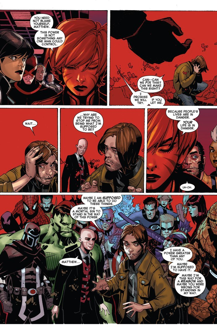 Projects images into Matthew Malloys mind. Uncanny X-Men v3 #28