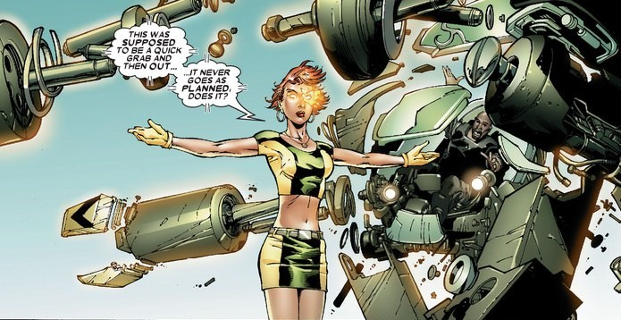 Lifts up and then dismantles a tank telekinetically - Uncanny X-Men v1 #475