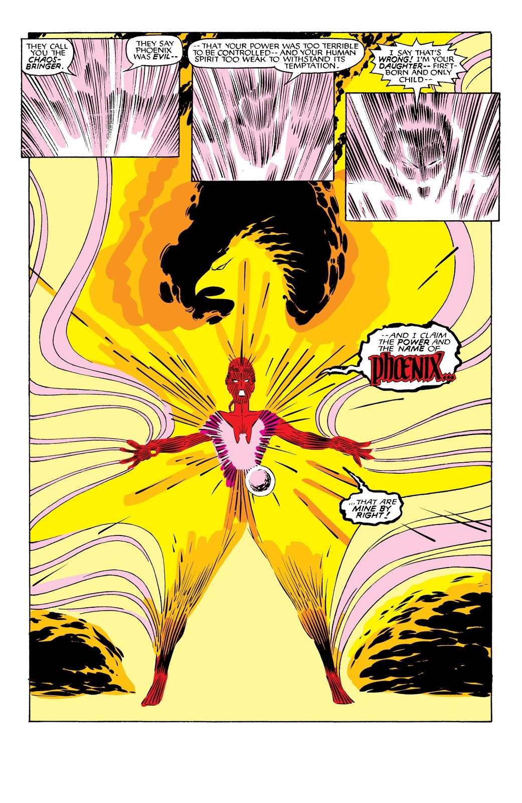 Awakens the power of the Phoenix Force by bonding with Jean's essence