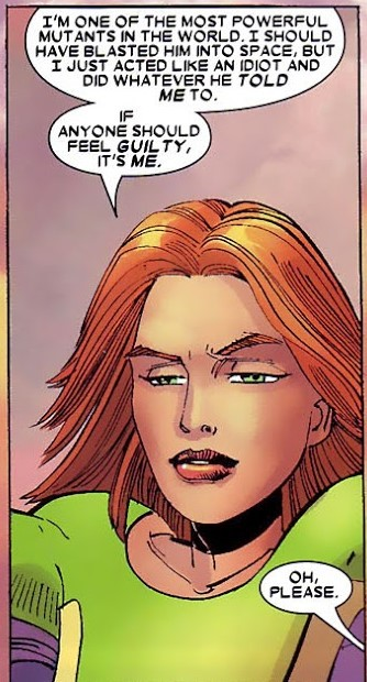 Considers herself one of the most powerful mutants in the world