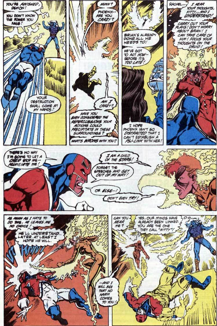One-Shots Captain Britain with a mindblast