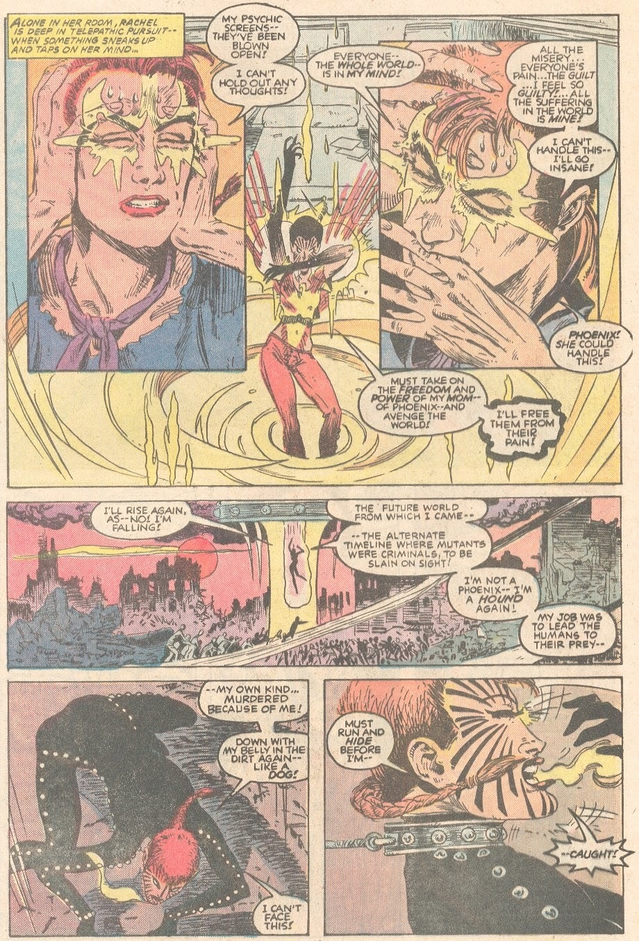After her psychic blocks are blown, she is able to hear the entire world's pain - Heroes for Hope #1