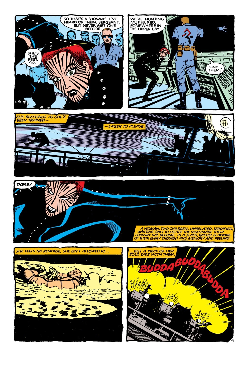 Was considered to be the best of all the hounds at tracking mutants- Uncanny X-Men V1- #189