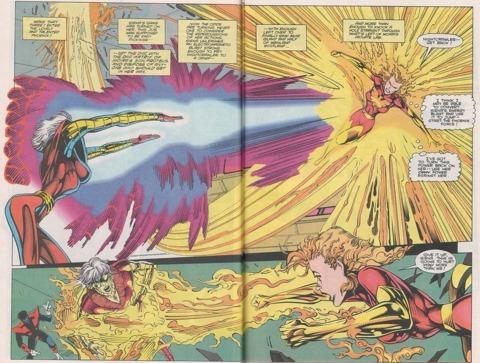 Rachel turns Sienna Blaze's electromagnetic energy to phoenix energy