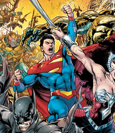 Superman in the New 52 version of Earth-2