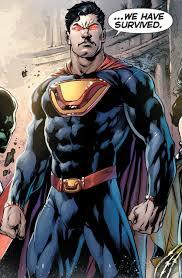 Ultraman as he appears in the New 52
