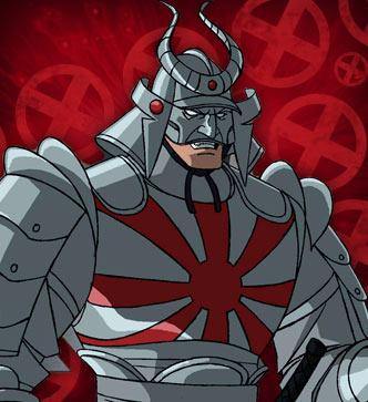 Silver Samurai in WATXM