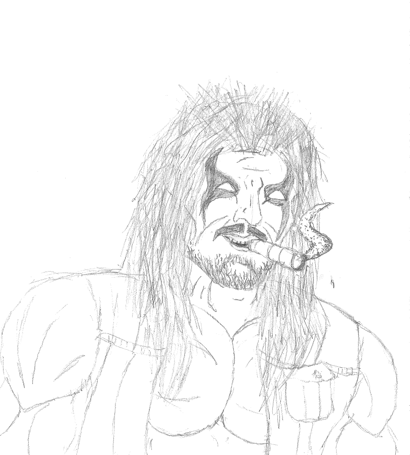 A quick Lobo sketch I did