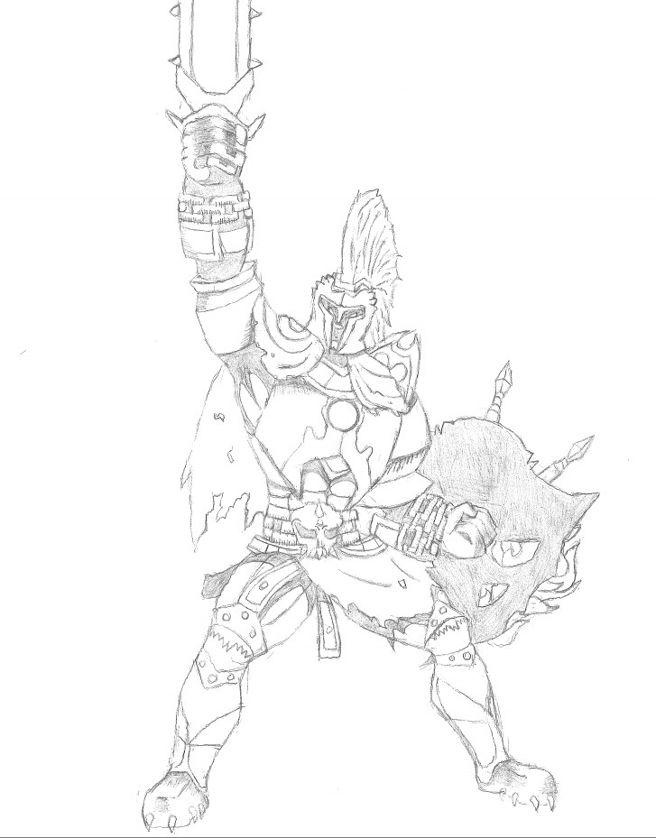 Ares from Smite
