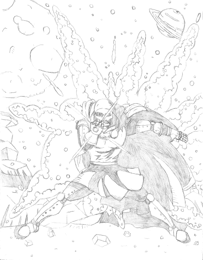 And finally my Favorite, Doctor Doom, with a new toy, the Infinity Gauntlet.