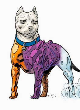 Element Dog: The Terrifics Mascot