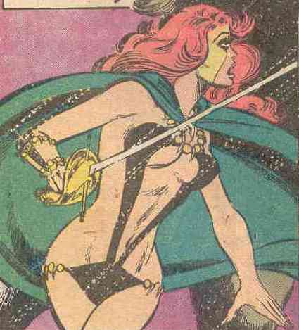 Mariah the swordswoman