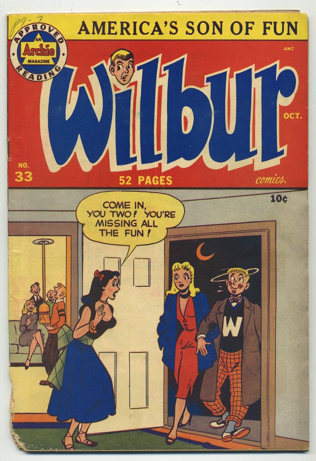 Wilbur 33 cover