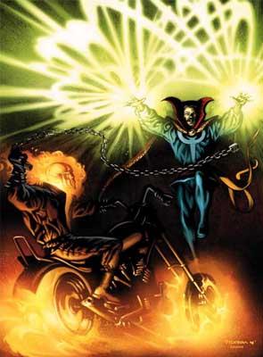 Ghost Rider vs. Doctor Strange
