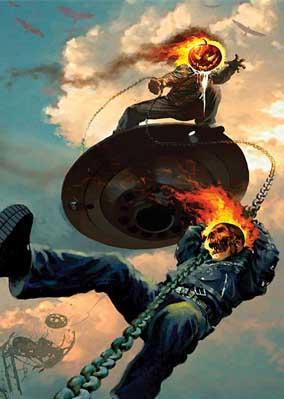 Ghost Rider vs. Jack O'Lantern