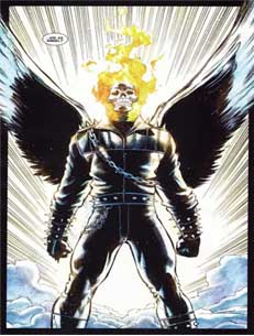 Angelic Ghost Rider