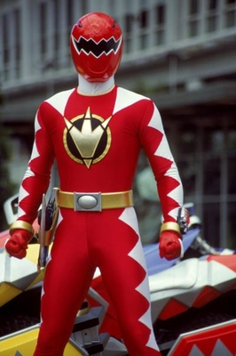 Conner as the Red Dino Thunder Ranger