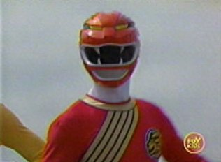 Cole as the Red Wild Force Ranger
