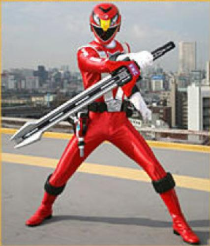 Scott as the Red RPM Ranger
