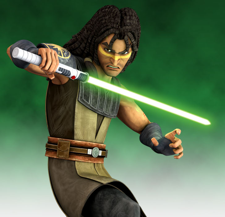 Quinlan Vos in The Clone Wars.