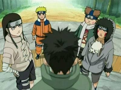 Shikamaru and his team.