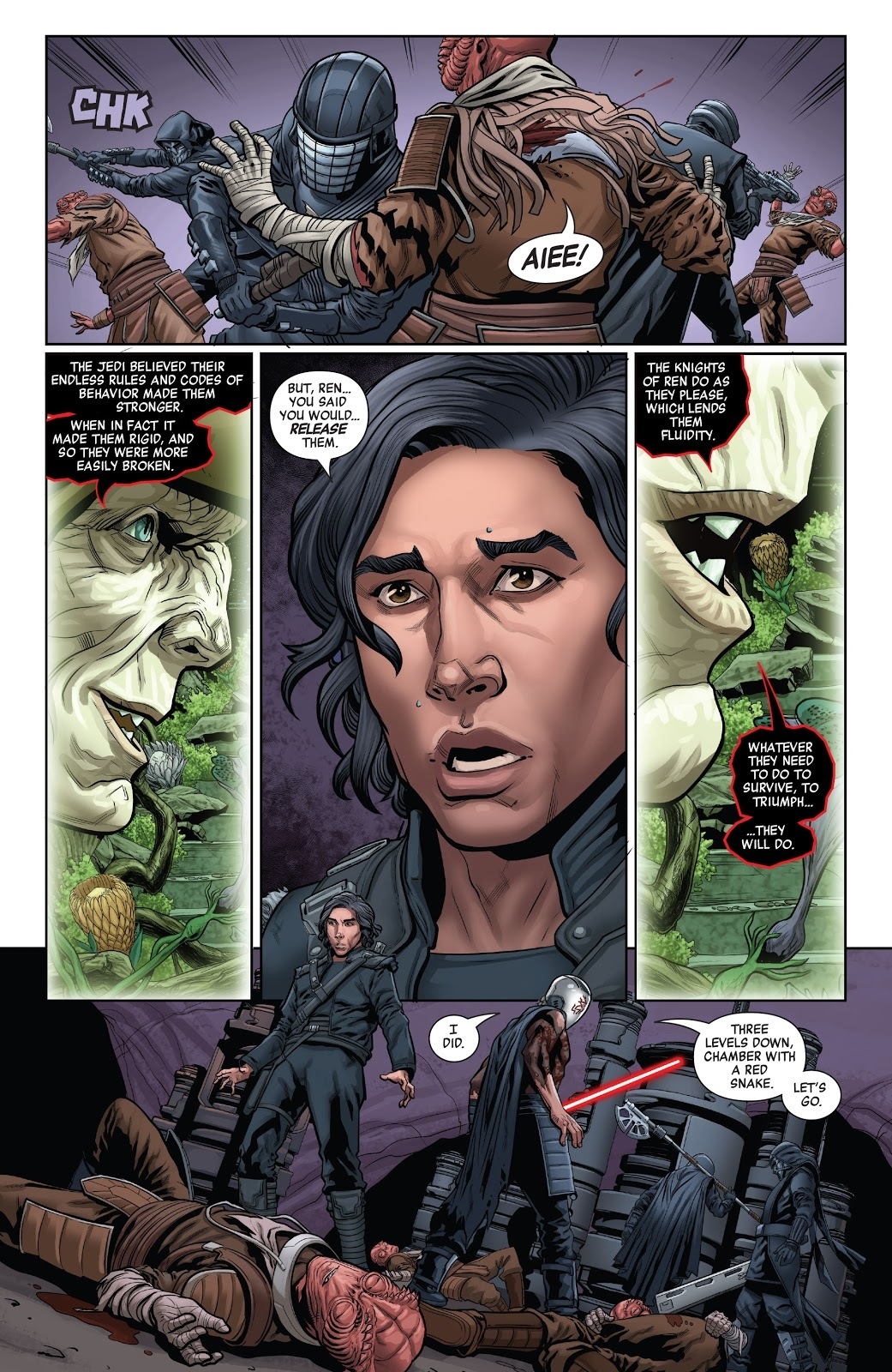 Star Wars: The Rise of Kylo Ren Issue 4