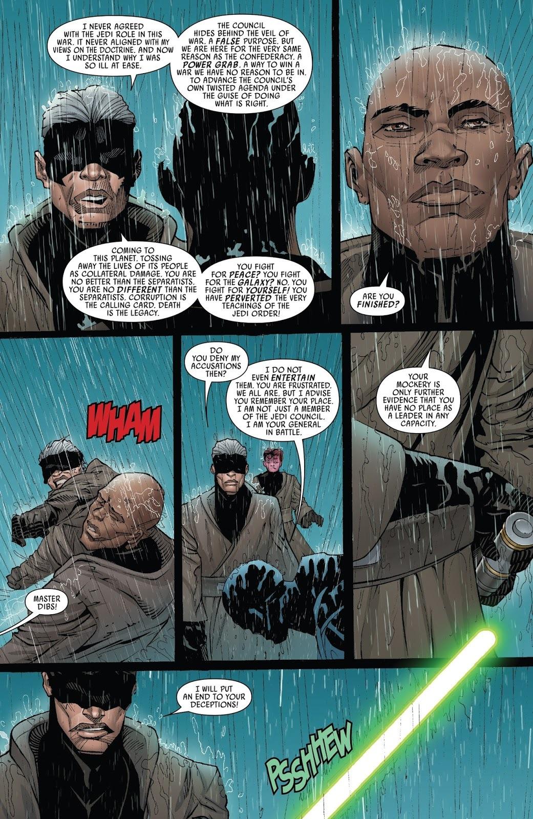 Star Wars: Mace Windu Issue #03