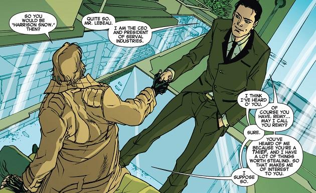 Harrison and Gambit