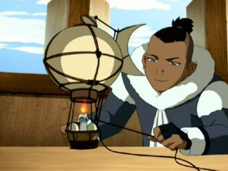 Even in his more humble days, Sokka was an engineering genius smart enough to figure out how a hot air balloon functions (which was technologically advanced for the Avatar world then).