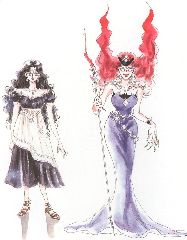 Beryl in the Manga