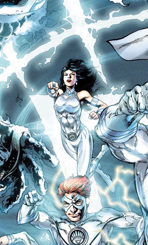 Donna as a White Lantern