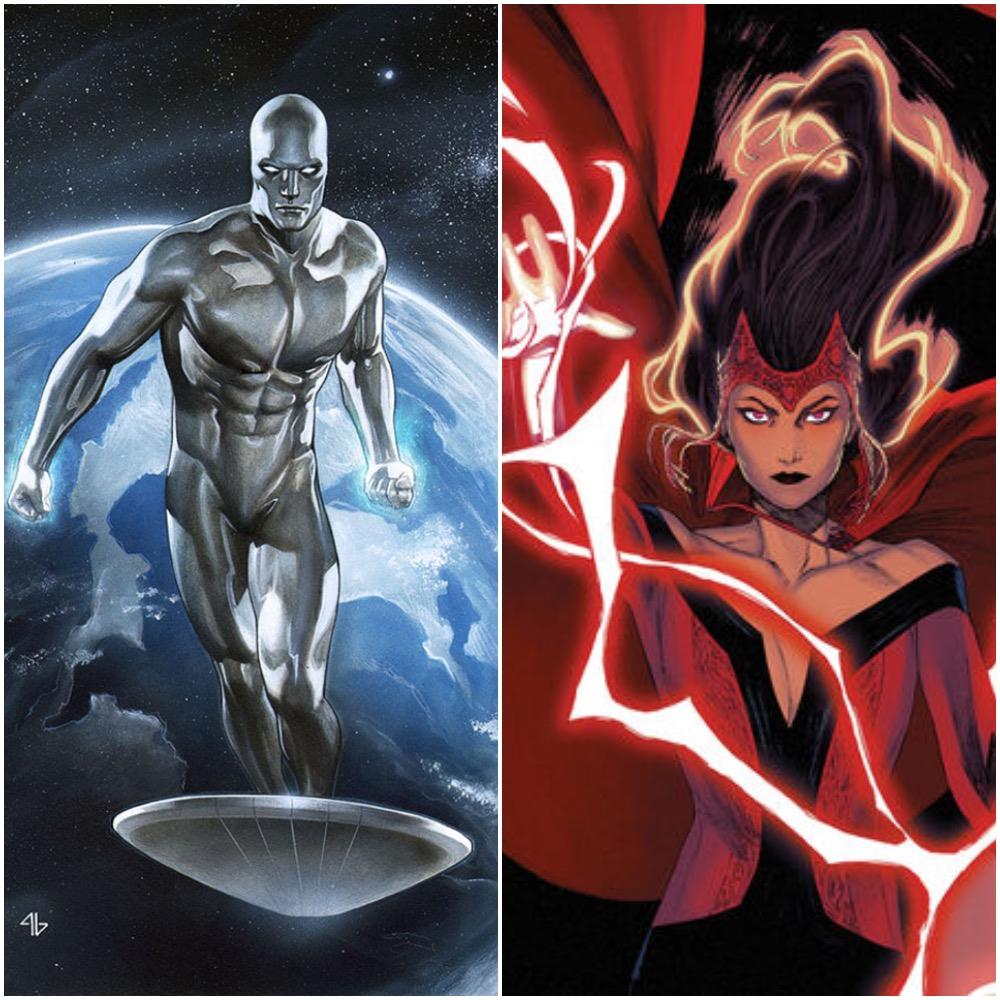 X Men Team vs. Silver Surfer & Scarlet Witch   Battles   Comic Vine