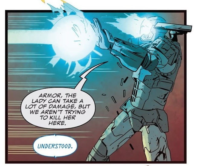 He makes this clear when he fights Carol Danvers. He wasn't attacking heroes with lethal force.