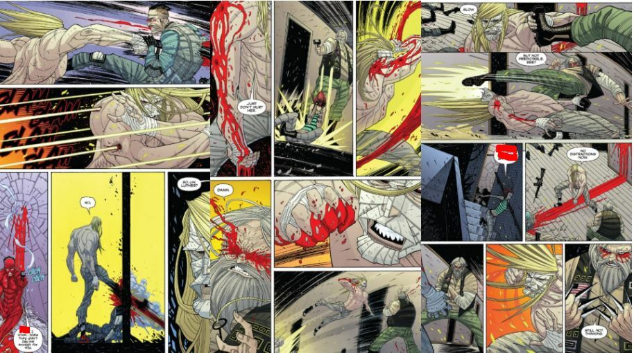 Legend of Strode Issue 2# Page #21-23, Issue #3 Page #5
