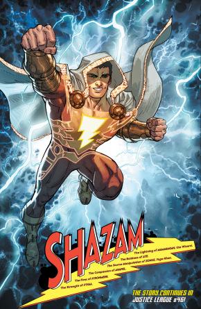 shazam rebirth