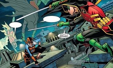 Ravager vs Robin
