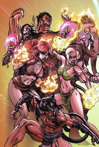 Stone-Age Avengers